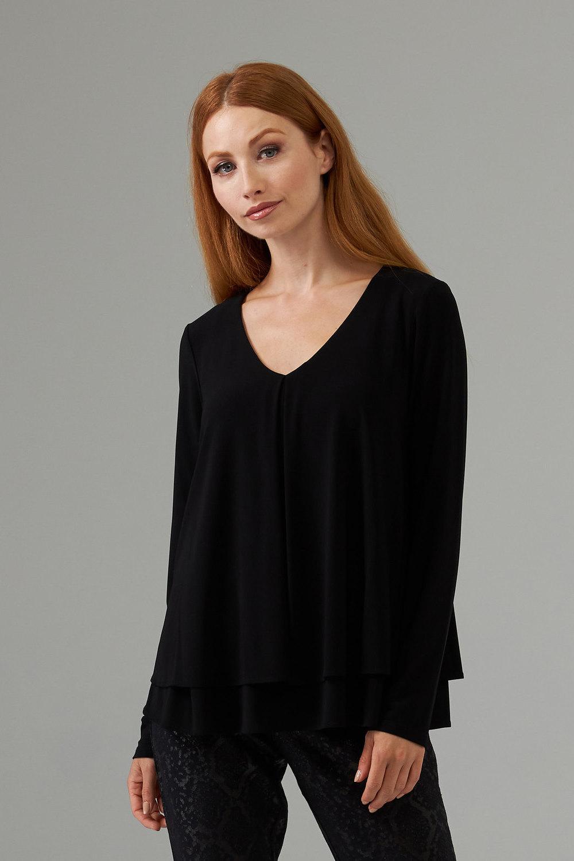 Joseph Ribkoff Black Shirts & Blouses Style 203701