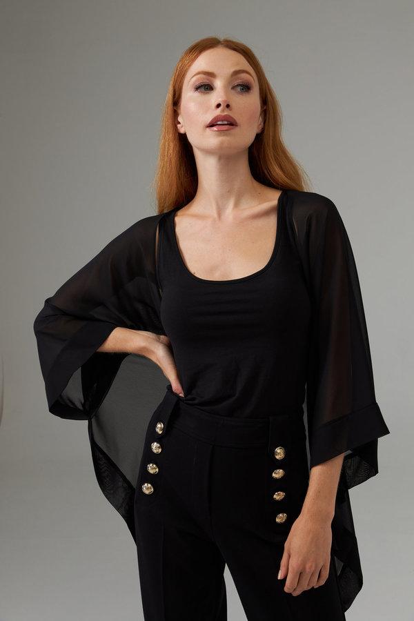Joseph Ribkoff Black Shirts & Blouses Style 203262