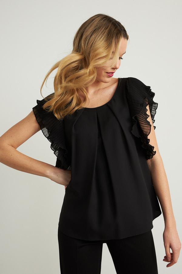 Joseph Ribkoff Tee-shirts et camisoles Noir Style 211005