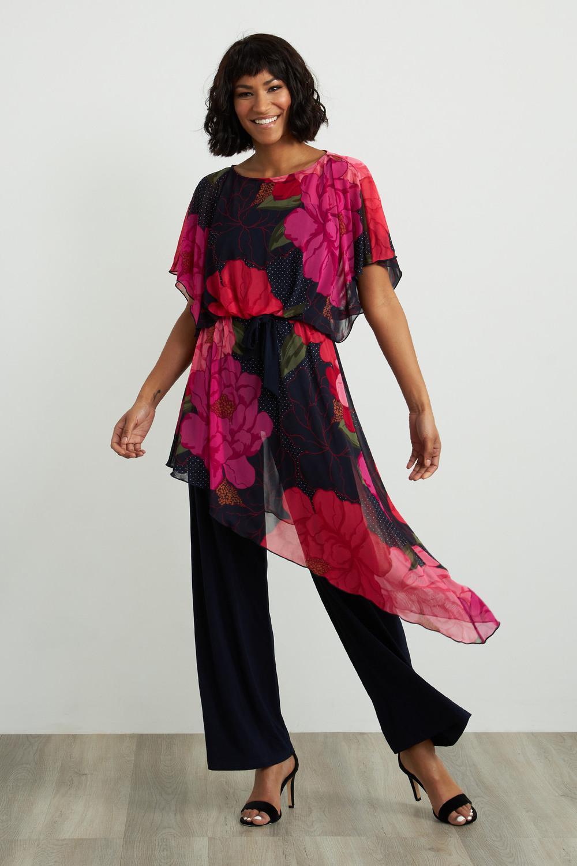 Joseph Ribkoff Combinaisons Rose/Multi Style 211007