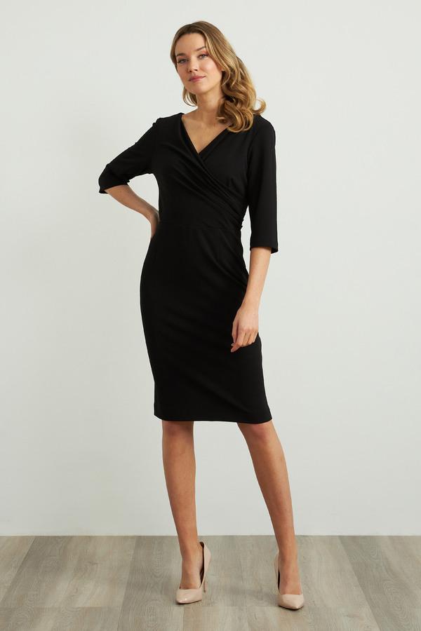 Joseph Ribkoff Robes Noir Style 211010