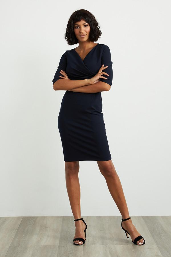Joseph Ribkoff Midnight Blue Dresses Style 211010