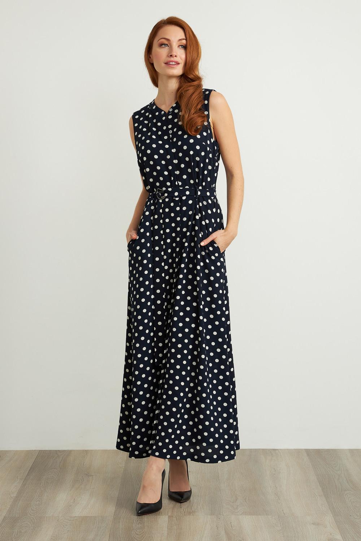 Joseph Ribkoff Navy/White Dresses Style 211027