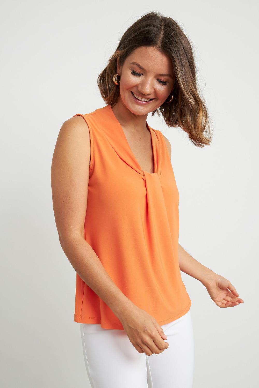 Joseph Ribkoff Tee-shirts et camisoles Tangerine Style 211029