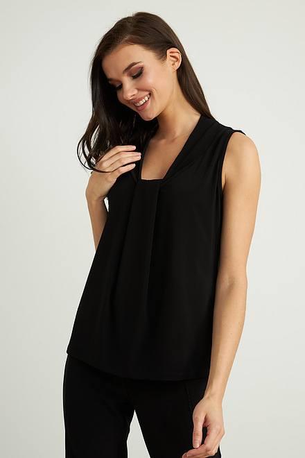 Joseph Ribkoff Black Tees & Camis Style 211029