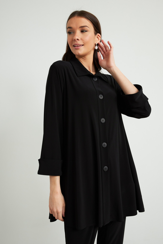 Joseph Ribkoff Black Shirts & Blouses Style 211034