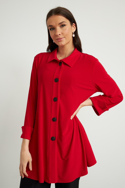 Joseph Ribkoff Chemises et blouses Rouge A Levres 173 Style 211034