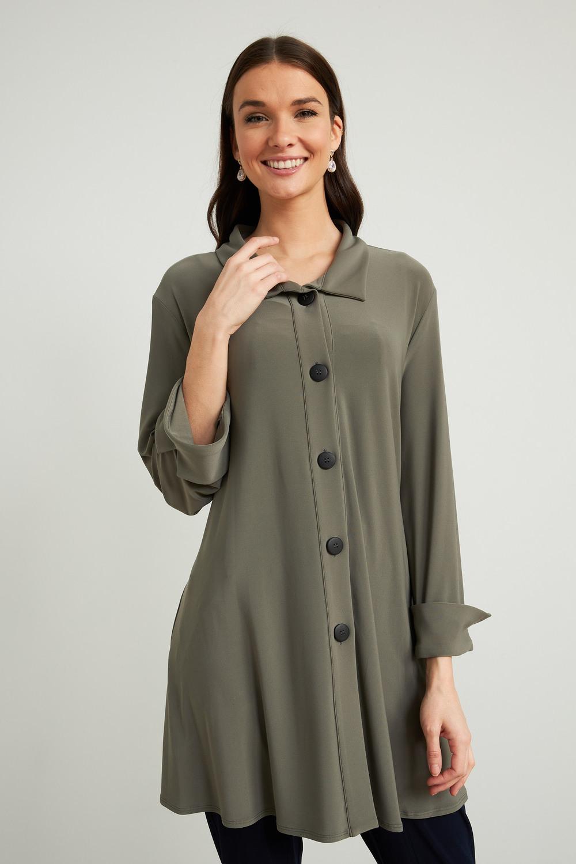 Joseph Ribkoff Eucalyptus Shirts & Blouses Style 211034