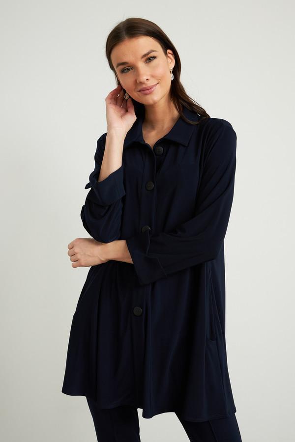 Joseph Ribkoff Midnight Blue Shirts & Blouses Style 211034