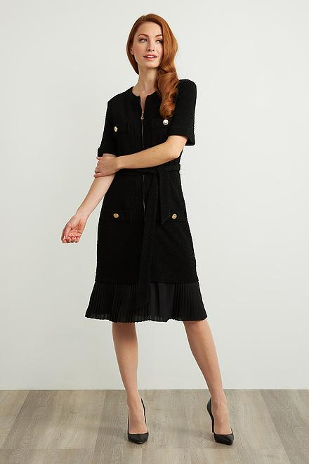 Joseph Ribkoff Black Dresses Style 211035