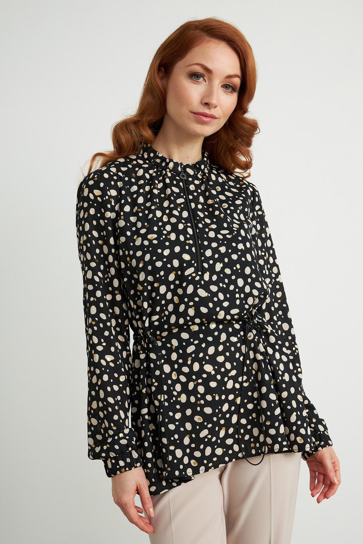 Joseph Ribkoff Chemises et blouses Noir/Ecru Style 211038