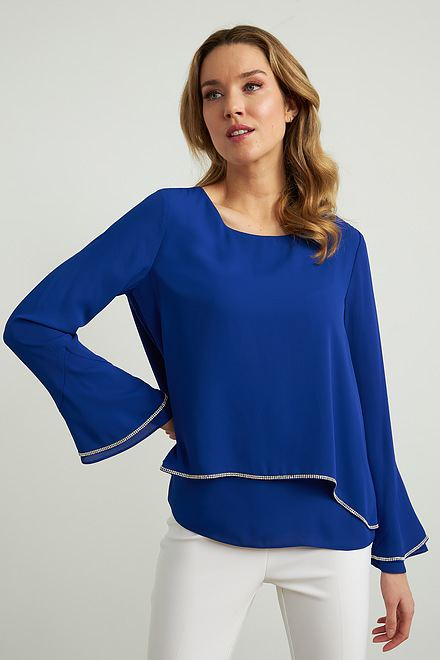 Joseph Ribkoff Royal Sapphire 163 Shirts & Blouses Style 211043