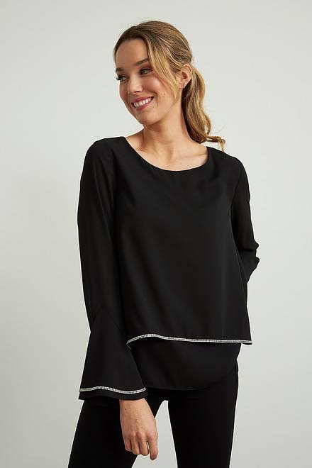Joseph Ribkoff Chemises et blouses Noir Style 211043