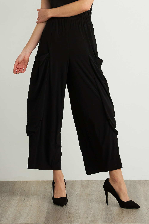 Joseph Ribkoff Pantalons Noir Style 211050
