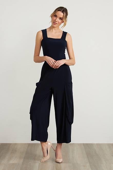 Joseph Ribkoff Pantalons Bleu Nuit Style 211050