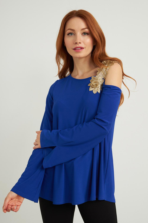Joseph Ribkoff Royal Sapphire 163 Shirts & Blouses Style 211051