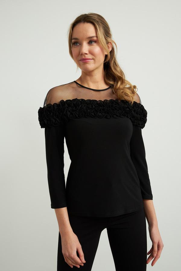 Joseph Ribkoff Chemises et blouses Noir Style 211060