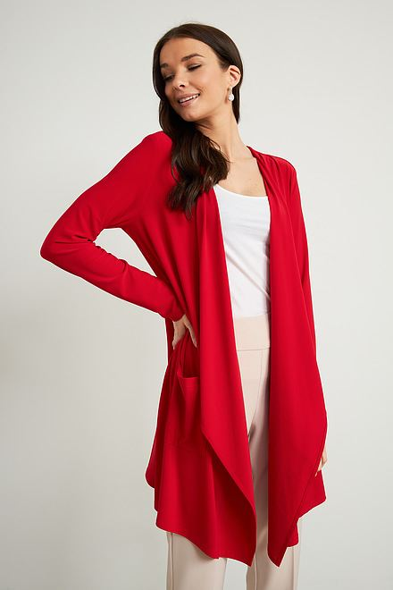 Joseph Ribkoff Cardigans Rouge A Levres 173 Style 211061