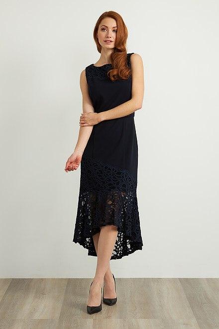 Joseph Ribkoff Appliqué Detail Dress Style 211071