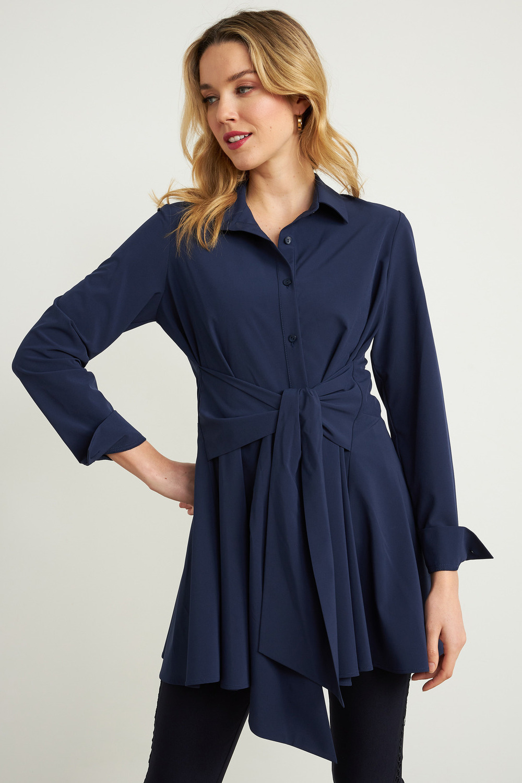 Joseph Ribkoff Navy Blue Shirts & Blouses Style 211072