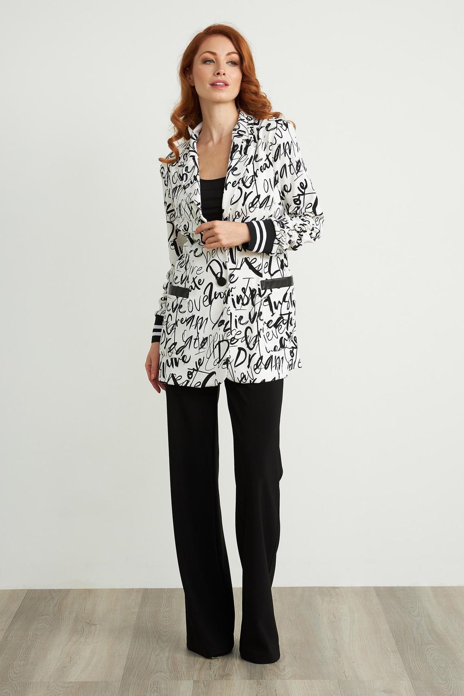 Joseph Ribkoff Pantalons Noir Style 211090