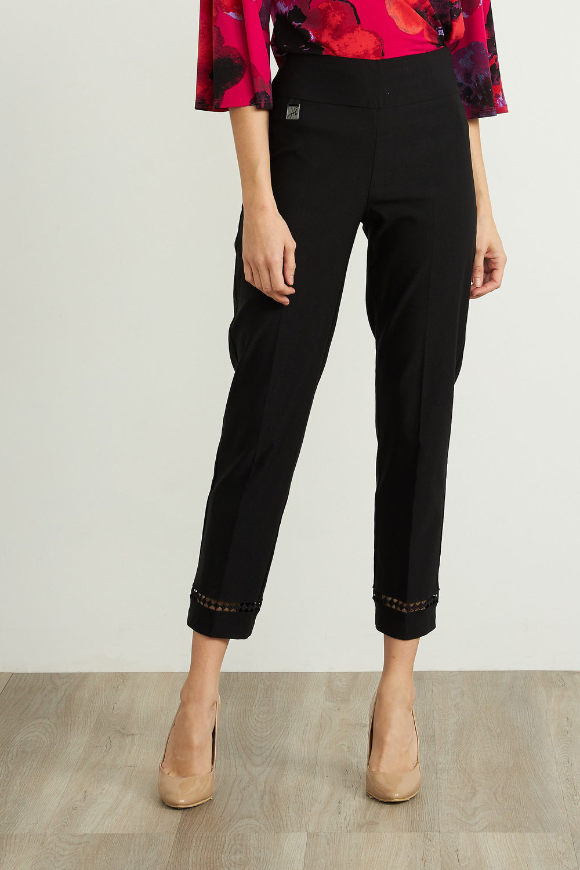Joseph Ribkoff Pantalons Noir Style 211113