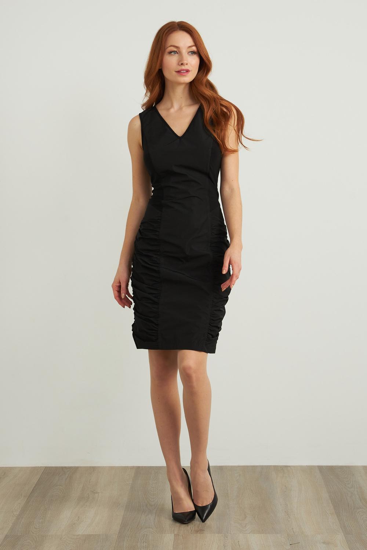 Joseph Ribkoff Robes Noir Style 211114