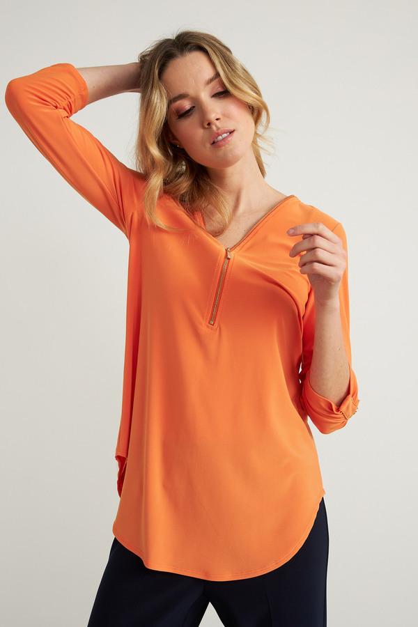 Joseph Ribkoff Tangerine Tunics Style 211115