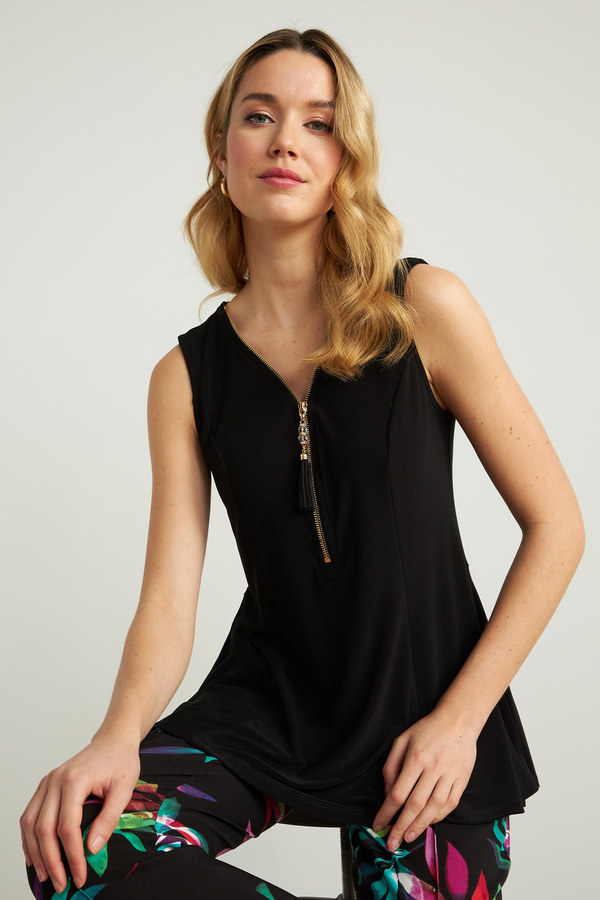 Joseph Ribkoff Tee-shirts et camisoles Noir Style 211116