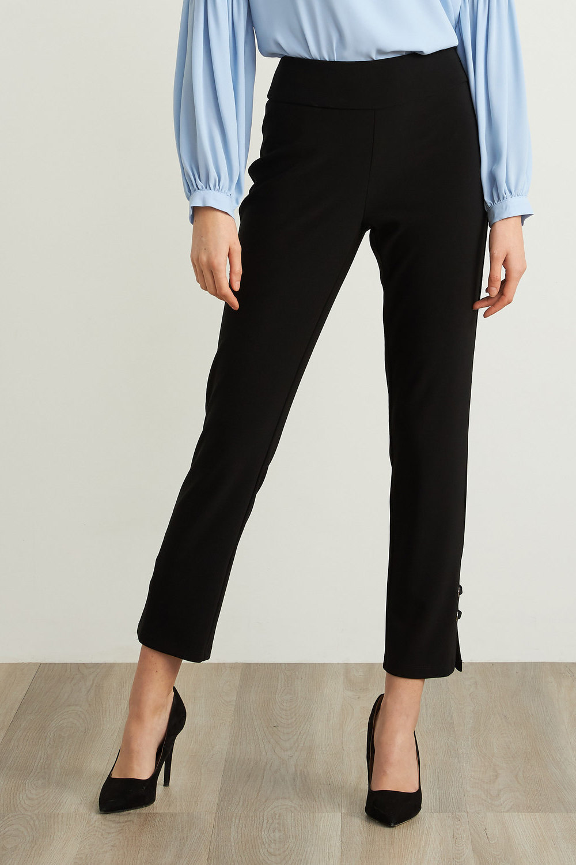 Joseph Ribkoff Pantalons Noir Style 211117