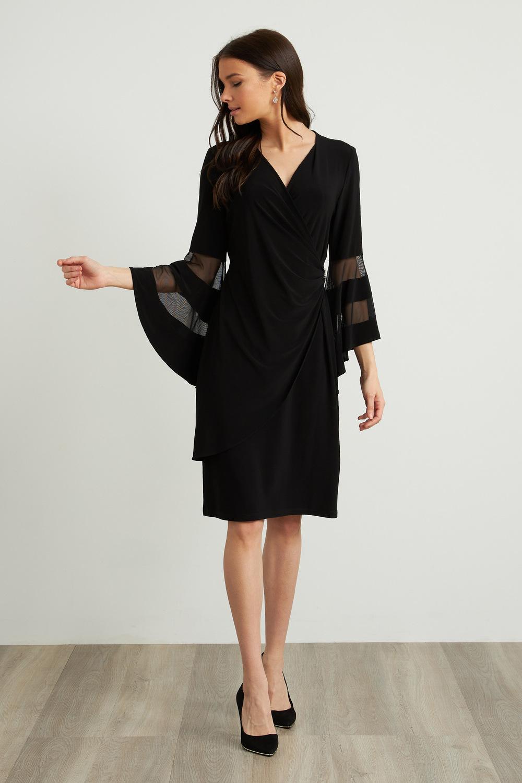 Joseph Ribkoff Robes Noir Style 211118