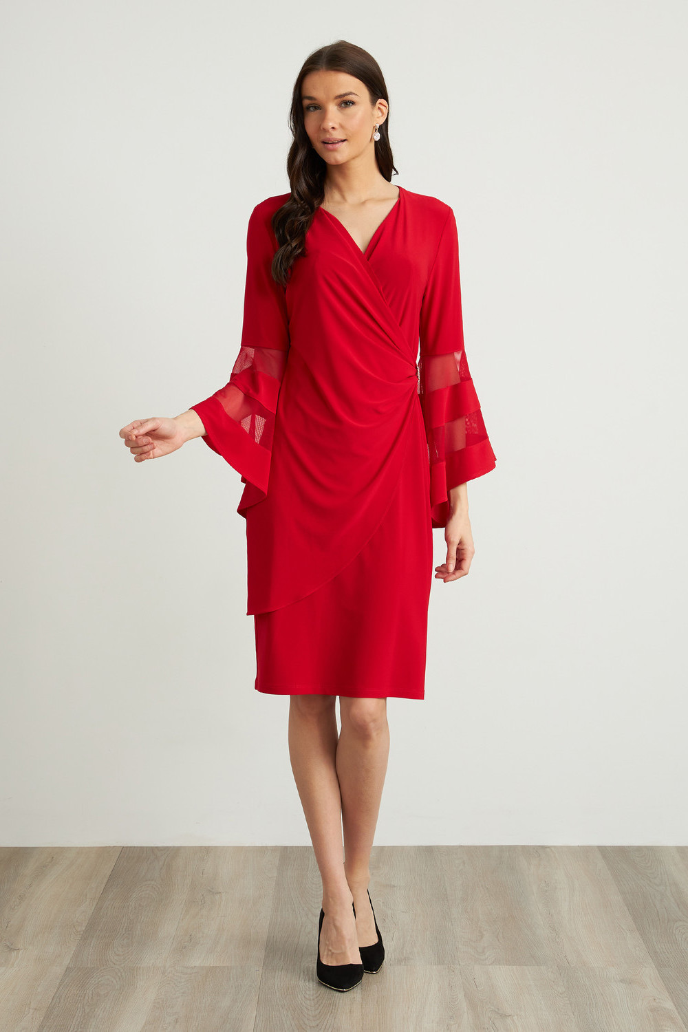 Joseph Ribkoff Robes Rouge A Levres 173 Style 211118