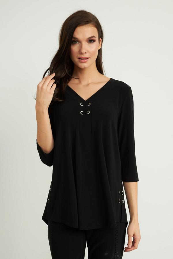 Joseph Ribkoff Black Tunics Style 211123