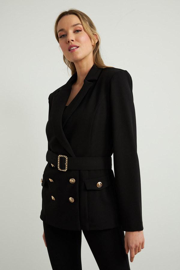 Joseph Ribkoff Black Blazers Style 211127