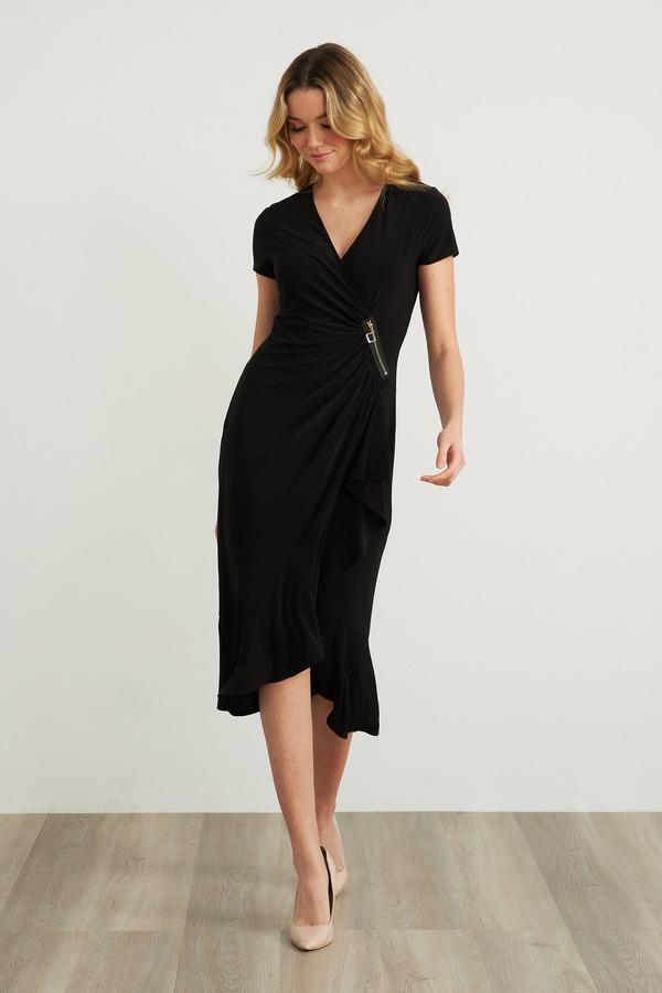 Joseph Ribkoff Black Dresses Style 211131
