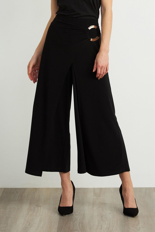 Joseph Ribkoff Black Pants Style 211134