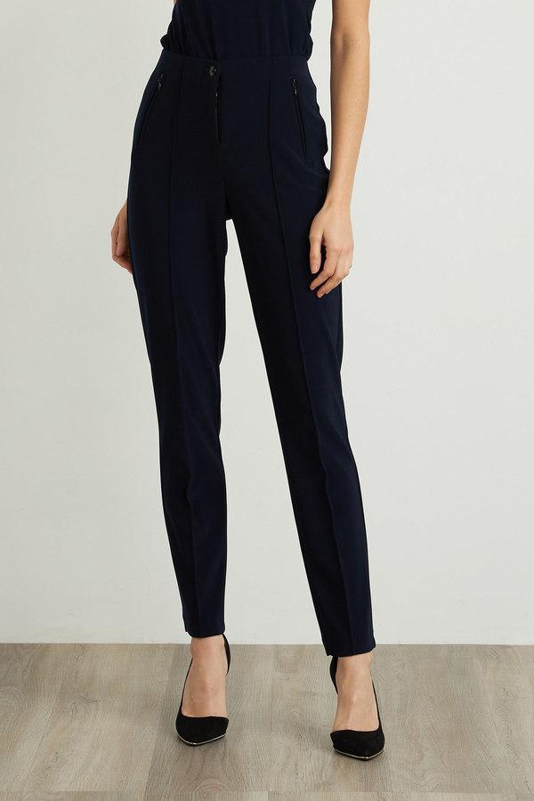 Joseph Ribkoff Pantalons Bleu Nuit Style 211147