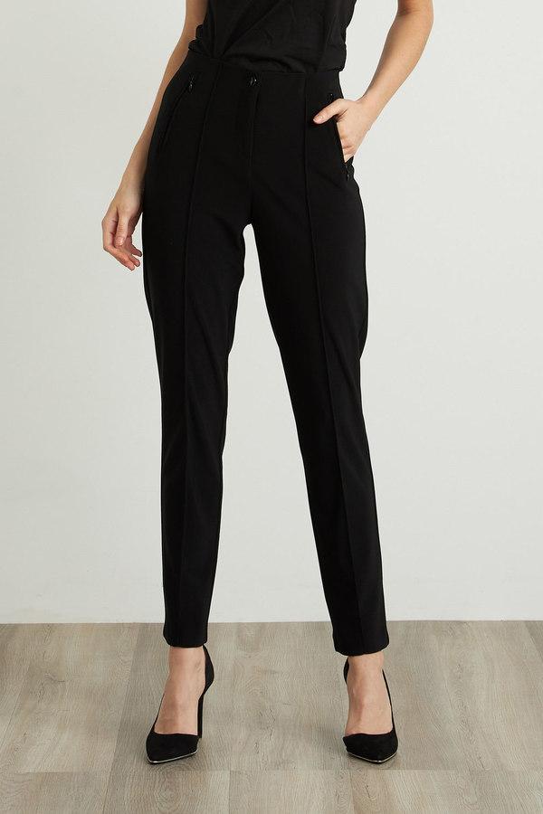 Joseph Ribkoff Black Pants Style 211147