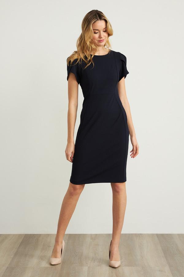 Joseph Ribkoff Midnight Blue Dresses Style 211154