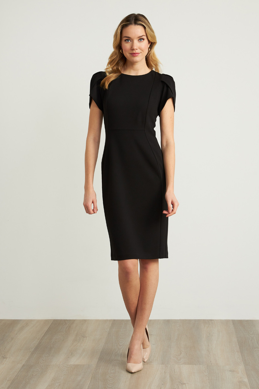 Joseph Ribkoff Black Dresses Style 211154