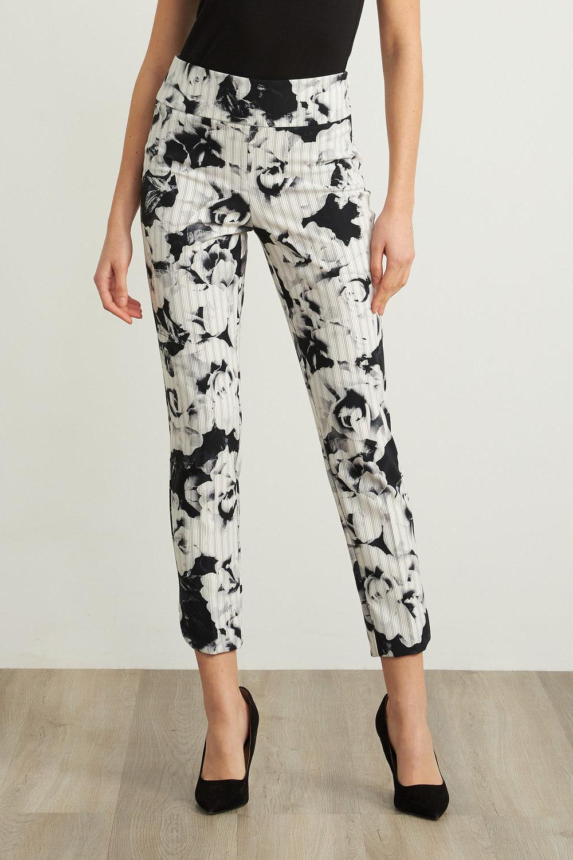 Joseph Ribkoff Pantalons Noir/Gris Style 211156