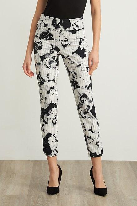 Joseph Ribkoff Cropped Print Pants Style 211156