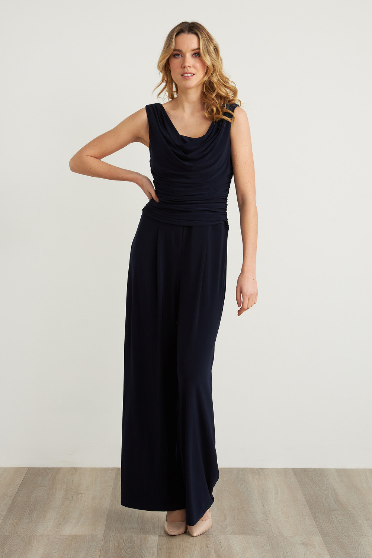 Joseph Ribkoff Midnight Blue Jumpsuits Style 211157