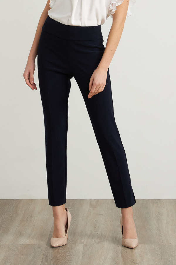 Joseph Ribkoff Pantalons Bleu Nuit Style 211158