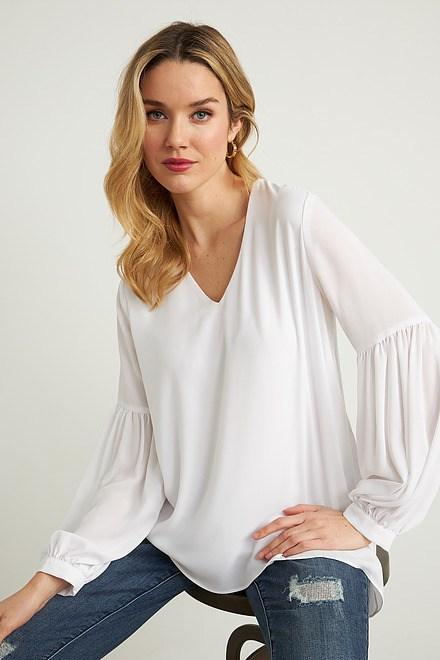 Joseph Ribkoff Chemises et blouses Blanc Cassé Style 211166
