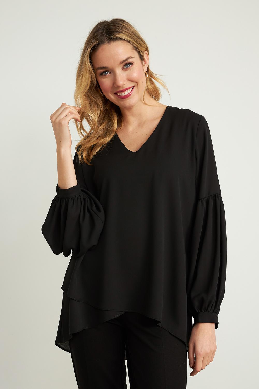 Joseph Ribkoff Black Shirts & Blouses Style 211166