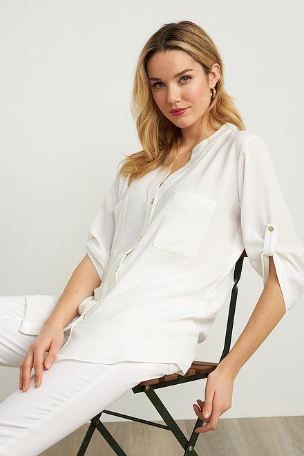 Joseph Ribkoff Short Sleeve Blouse Style 211170