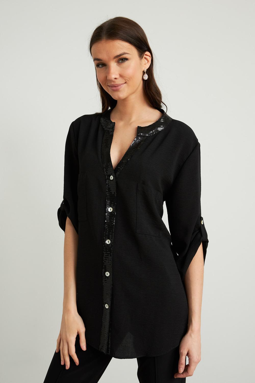 Joseph Ribkoff Chemises et blouses Noir Style 211170