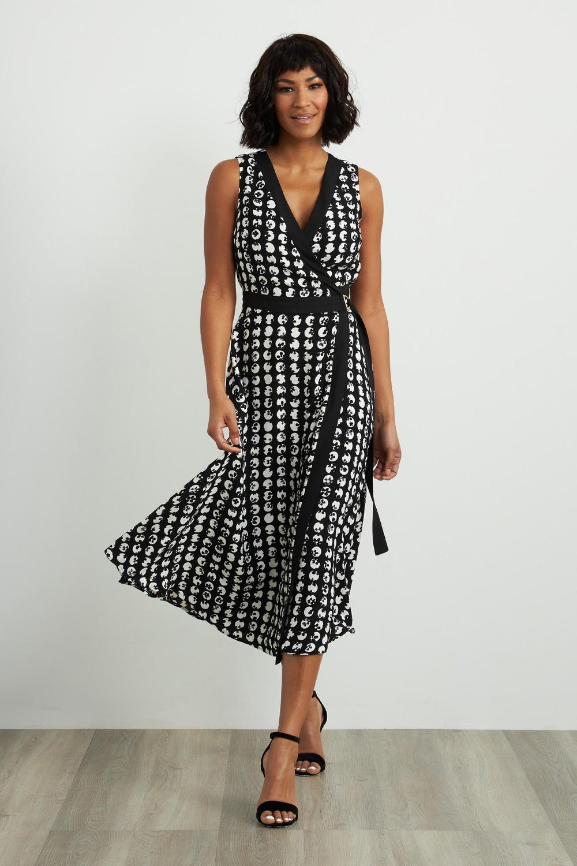 Joseph Ribkoff Black/White Dresses Style 211176