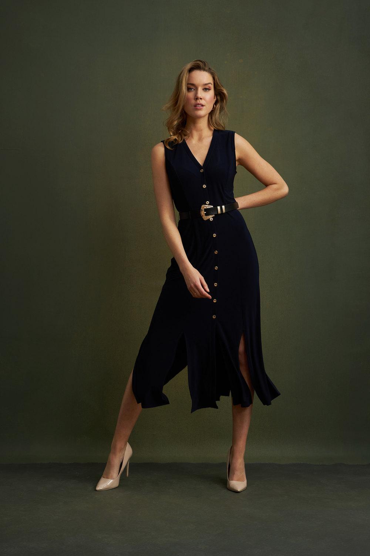 Joseph Ribkoff Midnight Blue Dresses Style 211179